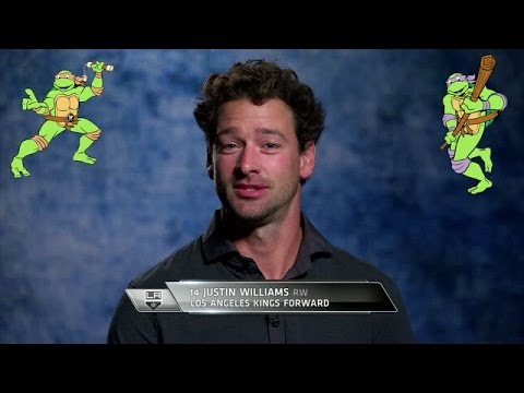 Famous Quartets: NHL Stars Try to Name the Teenage Mutant Ninja Turtles