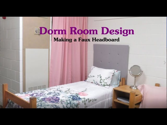 Dorm Room Design: The How To's