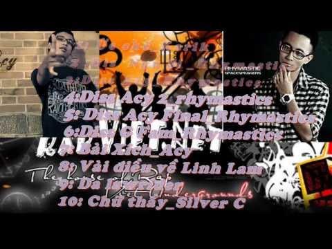Rap gangz (dizz)  hay nhất 2013.Cuộc chiến [Rap_Vn]  Rhymastics, Acy, Karik, Silver C