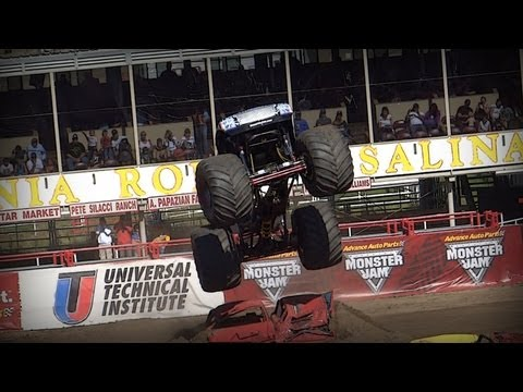 Monster Jam Trucks - Salinas, CA 2013