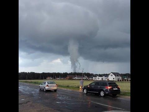 Несостоявшийся торнадо в Лиде, Беларусь