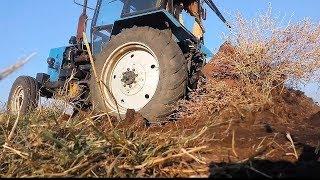ЮМЗ-6 прошлогодние дела с навозными кучами #СельхозТехника ТВ