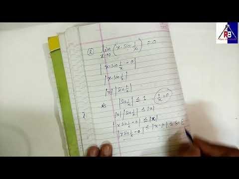 Calculus B.Sc. Maths / concept of limits