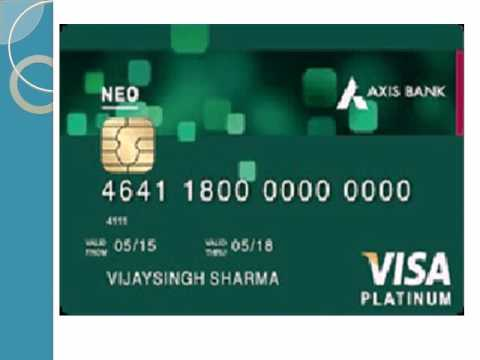 axis bank neo credit card payment rules