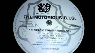 The Notorious B.I.G. - 10 Crack Commandments DJ Premier Instrumental 1999