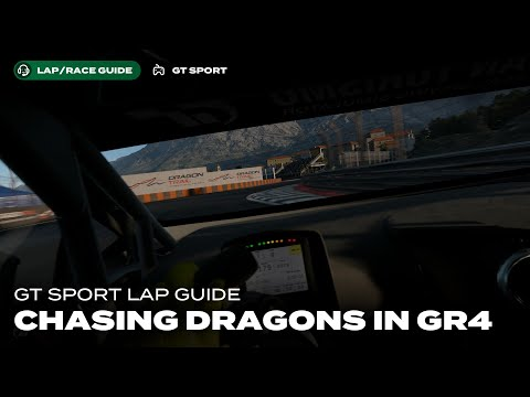 GT Sport Lap Guide: Daily Race C at Dragon Trail Seaside Gr4
