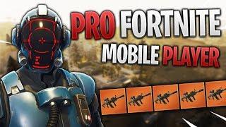 PRO FORTNITE MOBILE PLAYER // 250+ Wins // Fortnite Mobile Gameplay Tips & Tricks