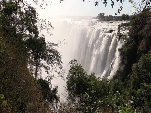 Victoria Falls Spectacle from the Zambia side