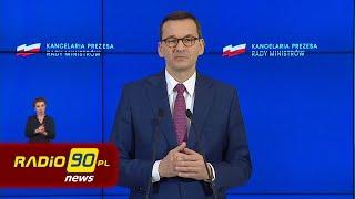 Konferencja Premiera Mateusza Morawieckiego 29.04.