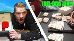 neue Uhren gekauft 100.000,00 € (Iced Out)