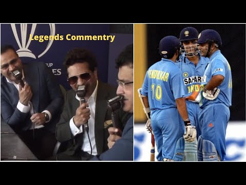 Commentary Fun With Sachin, Sehwag And Ganguly