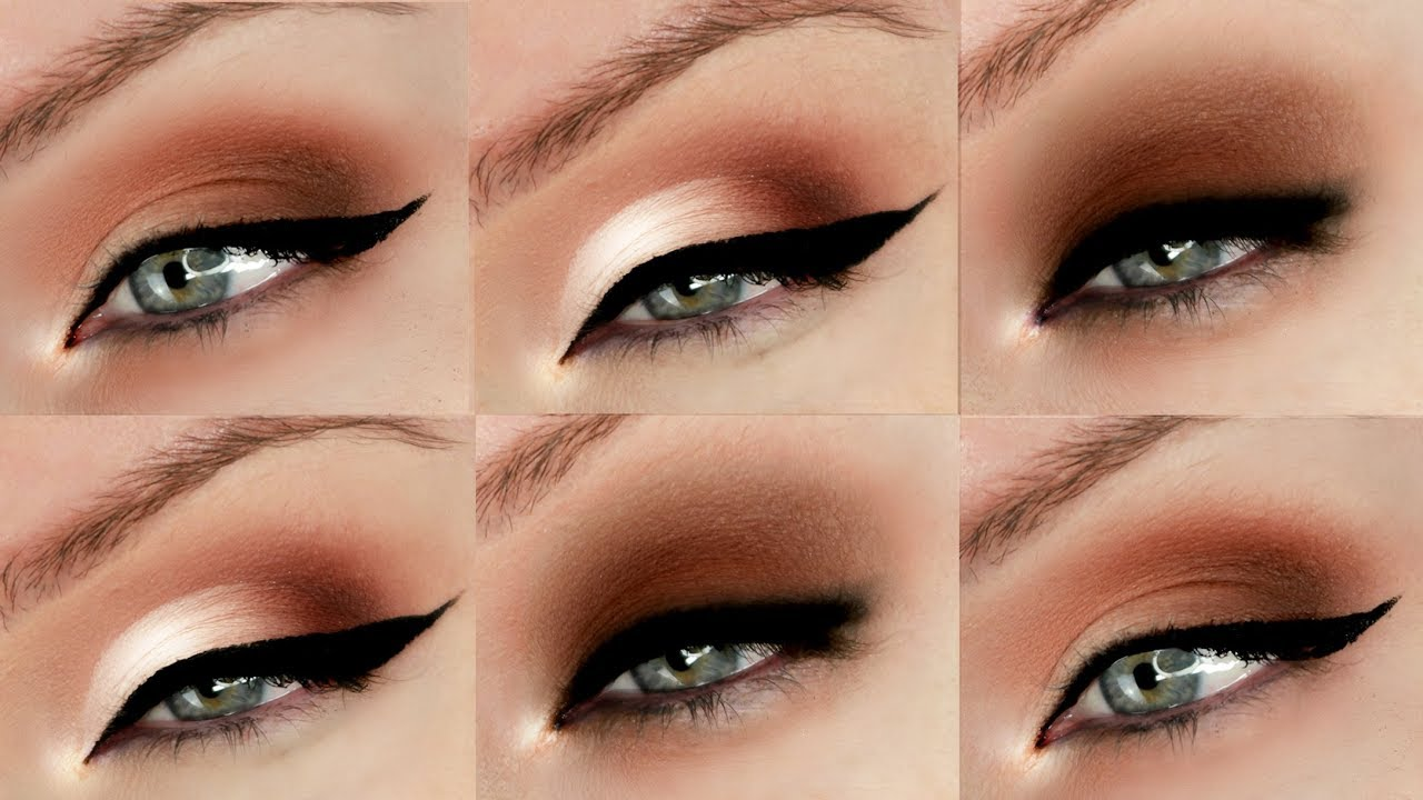 Hooded Eyes Eyeshadow Techniques 3 Different Styles Youtube