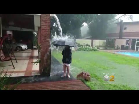 Boy Struck By Lightning In Argentina