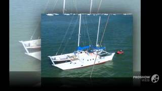 Wharram Tehini Sailing boat, Catamaran Year - 1979,