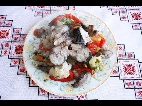 Горячие блюда из рыбы - рецепты
