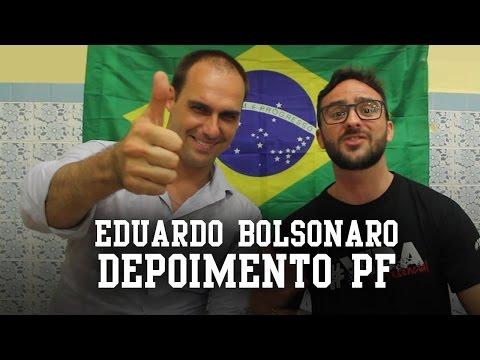 Eduardo Bolsonaro: Depoimento Polícia Federal - AlfaCon Concursos Públicos