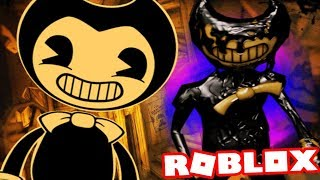 TAKING AN ELEVATOR TO THE BENDY AND THE INK MACHINE UNIVERSE! || Roblox BATIM The Scary Elevator