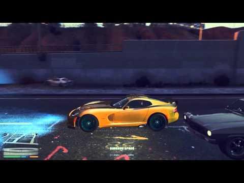 GTA V: Dodge Viper SRT