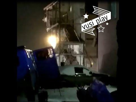 В Красноярске произошел взрыв бытового газа в жилом доме
