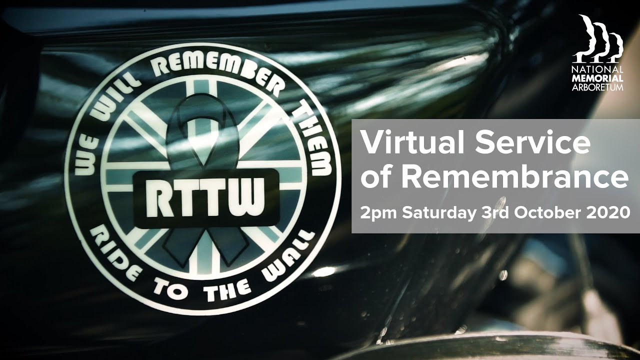 Ride to the Wall 2020 - Virtual Service of Remembrance