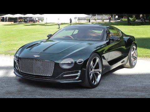 Bentley EXP 10 Speed 6 Sound - Start Up & Revs