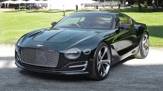 Bentley EXP 10 Speed 6 Sound - Start Up & Revs