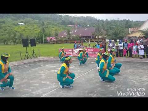 Juara 1 Lomba Senam Maumere Bhayangkari Cab. MALUKU TENGAH