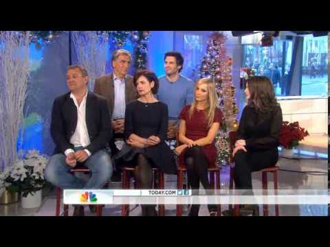 Downton Abbey Cast on the Today