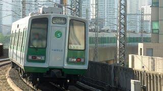 [철도풍경] 서울지하철 2호선 내선순환, 외선순환 열차…