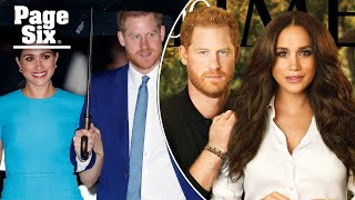 Prince Harry and Meghan Markle's 'airbrushed' Time 100 cover gets roasted   Page Six Celebrity News
