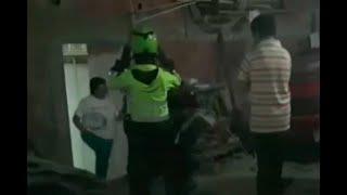 Policías hallan un desguazadero de carros en Ciudad Bolívar  - Ojo de la noche