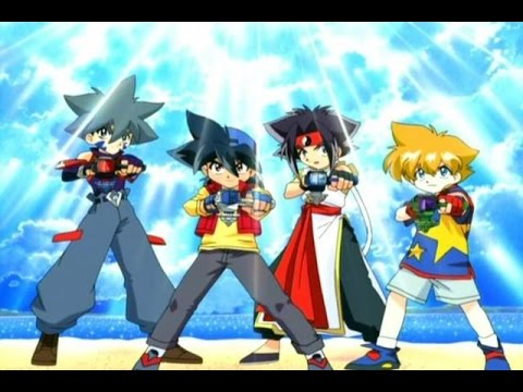 Beyblade V-force soundtrack - OFF THE CHAINS (music ripped like a karaoke)