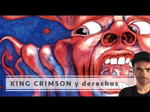 King Crimson, derechos y Spotify