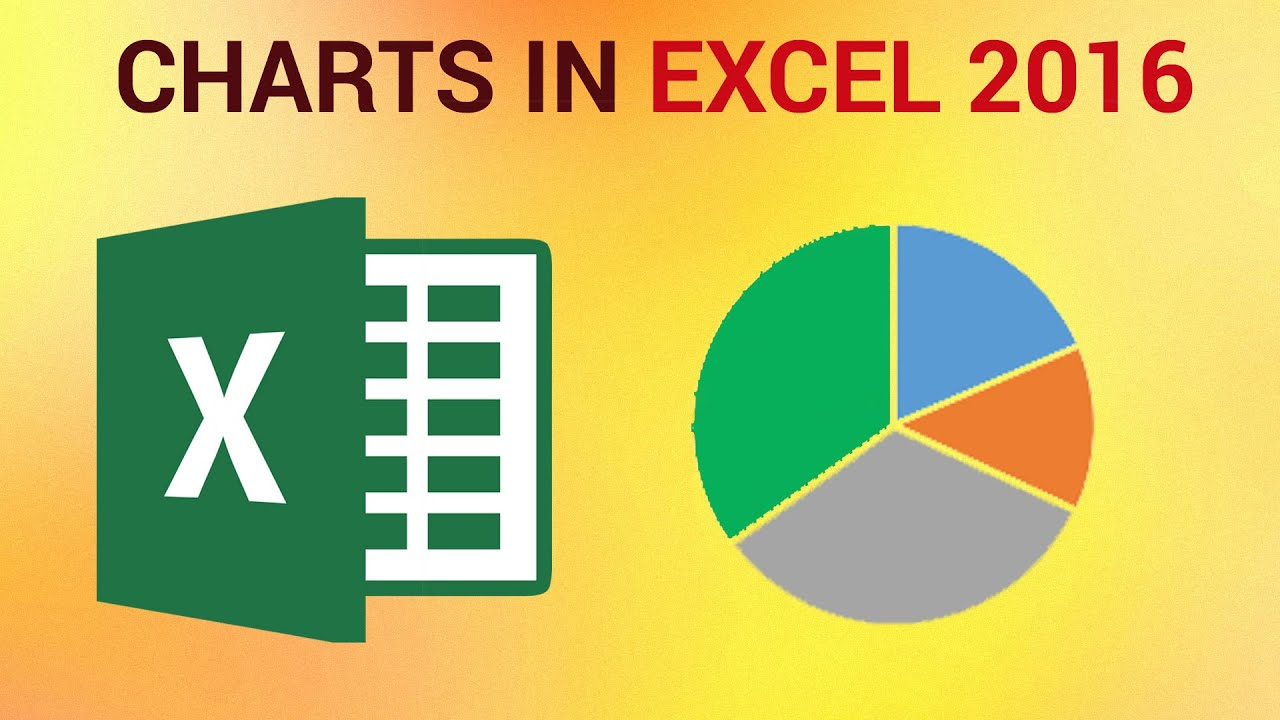How To Create Charts In Excel 2016