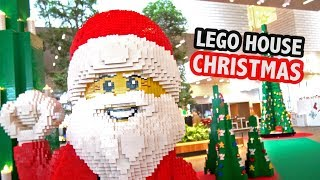 What's Inside LEGO House at Christmas?
