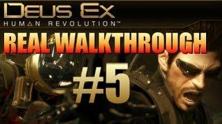 Deus Ex Human Revolution - Pt 5: How to Free Josie Thorpe, Take Sanders Alive, Get Ghost Bonus #3