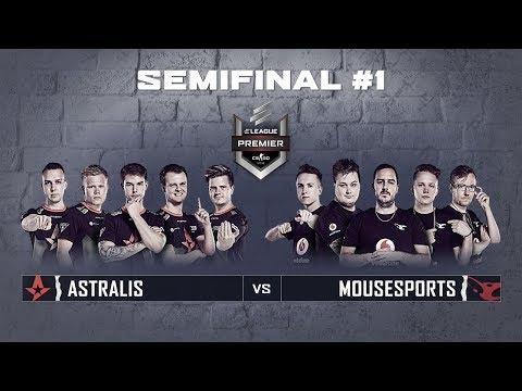 ELEAGUE Premier 2018 - Semifinals Match #1: Astralis vs Mousesports