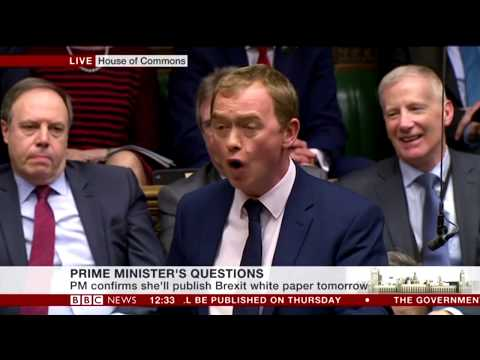 "PRIME MINISTER'S QUESTIONS ""FUNNY MOMENTS"" LONDON 01/02/2017"