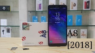 Samsung Galaxy A8 2018 Black   unboxing New Model 2018   secret A8 2018