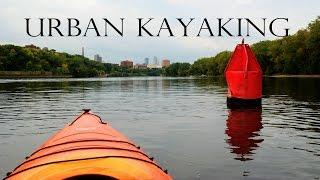 Urban Kayaking On The Mississippi River