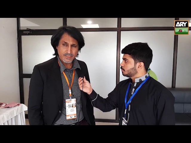 Pakistan's former cricketer and current commentator Ramiz Raja in an exclusive talk with ARY Sports