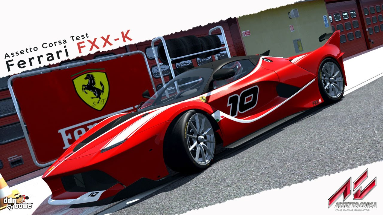 assetto corsa ferrari fxx-k vs la ferrari @ mugello + download