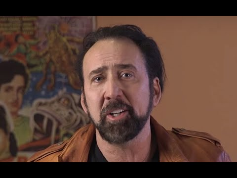 """Nicolas Cage reads Poe's """"The Tell-Tale Heart"""" at C4GED 4-EVER"""