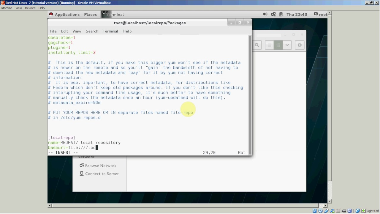 Configuring Local Yum Repository on CentOS 7/Red Hat Linux 7 (Bangla  Tutorial #Part-2)