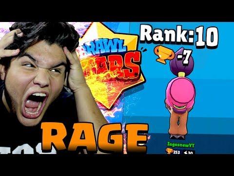 RAGE MONSTRO NO BRAWL STARS!! ODEIO SHOWDOWN!!