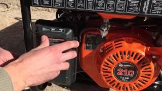 Бензиновый генератор Daewoo GDA 3500E / GDA 3500(Видеообзор бензинового генератора Daewoo GDA 3500E (отличается от модели GDA 3500 только наличием электрозапуска),..., 2015-10-11T20:29:16.000Z)
