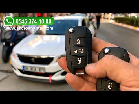 Peugeot 301 Anahtar Yapımı | Yedek Kopyalama - Oto Anahtarcı İstanbul