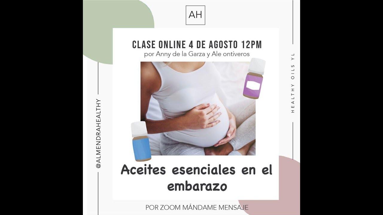 Aceites esenciales ¿En el embarazo?