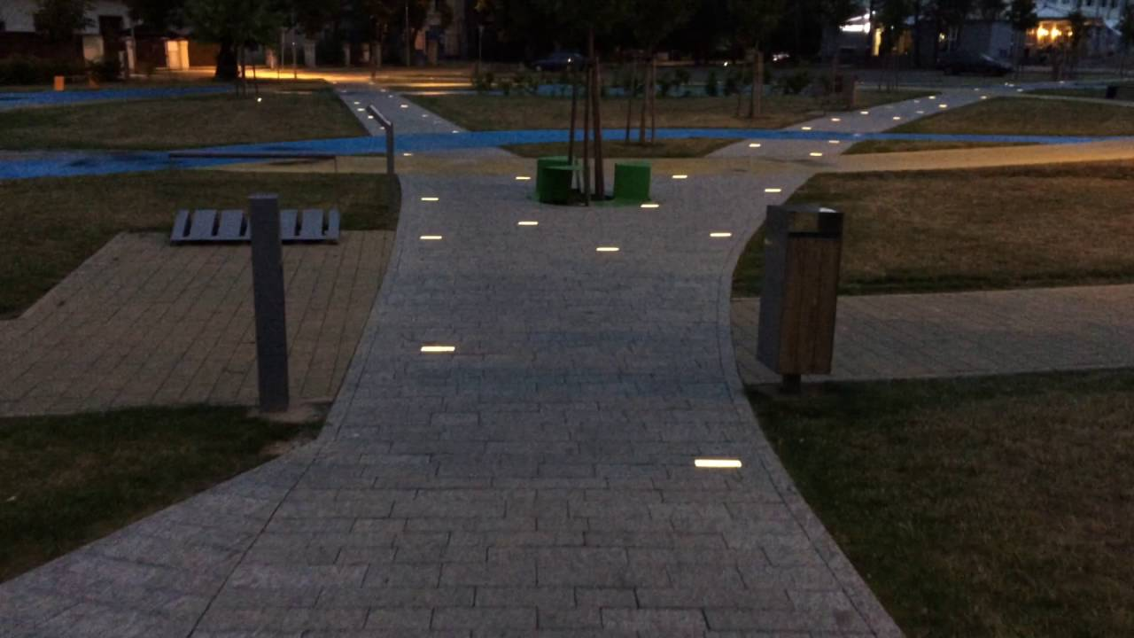 Paving Lights In Benatky Project Youtube