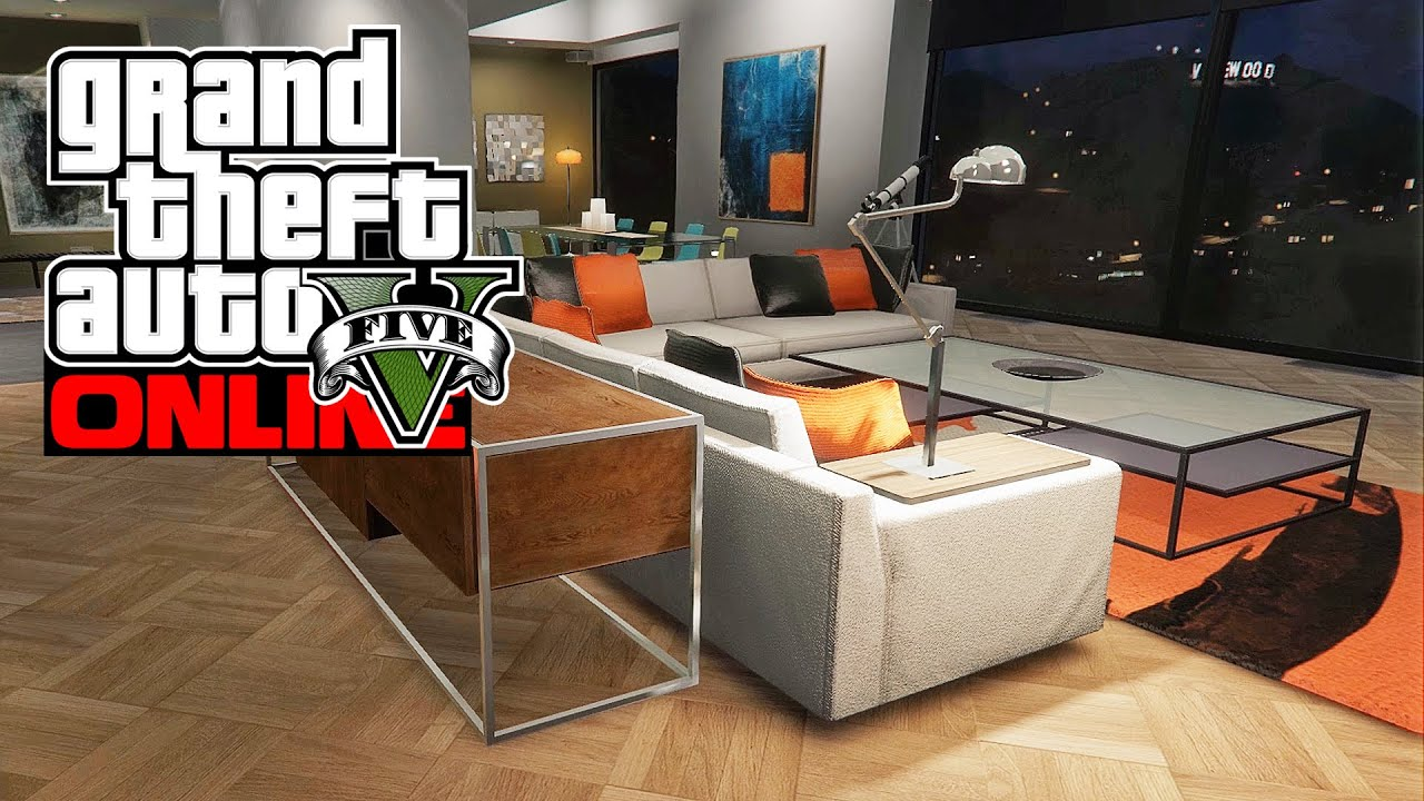 Amazing Online House Tours #7: GTA 5 Online (PC): NEW $400,000 HOUSE TOUR! - Eclipse Towers Apt #40 (GTA  V) - YouTube